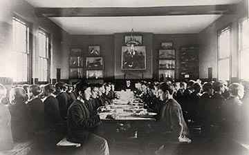 Dining room, orphanage
