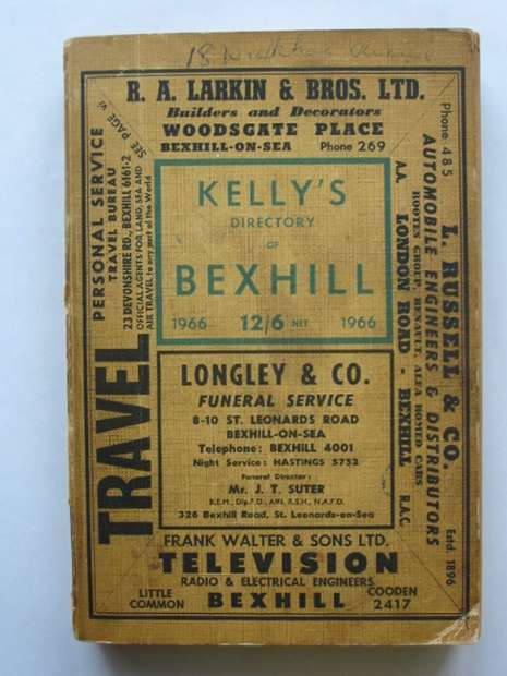 Kelly's Directory of Bexhill 1966