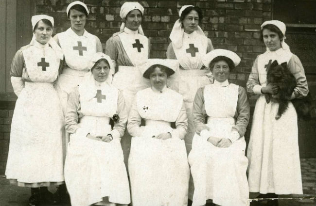 Nurses and VADs WW1