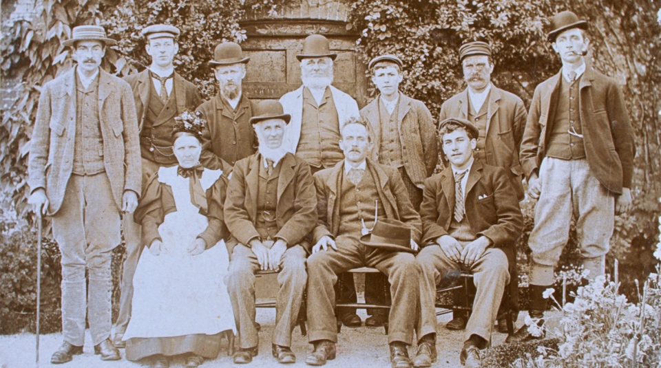 The Lost Gardens of Heligan, Cornwall gardeners 1900