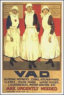 VAD recruitment poster